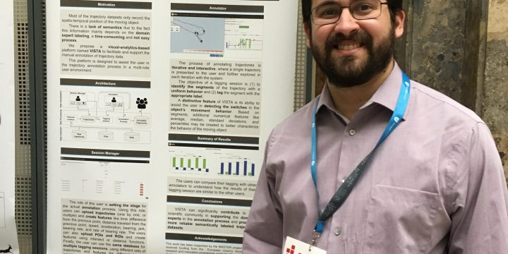 Amilcar Soares presented the MASTER paper on the VISTA system at the EDBT conference