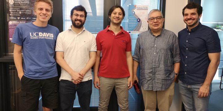 Secondments of CNR researchers  to Dalhousie University