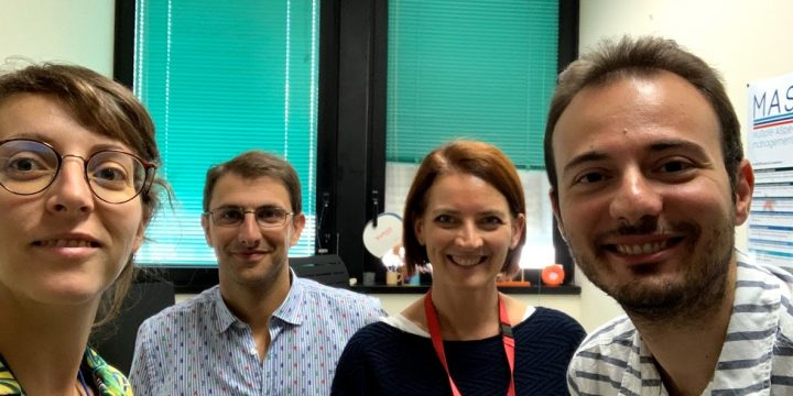 University of Piraeus Research Center researcher visiting the CNR research group