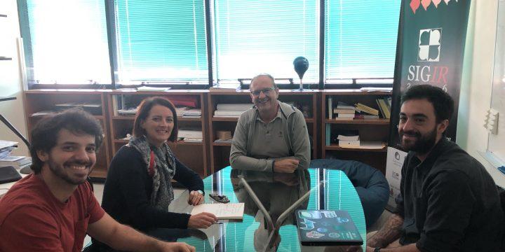 Luiz Santana from UFSC visiting CNR