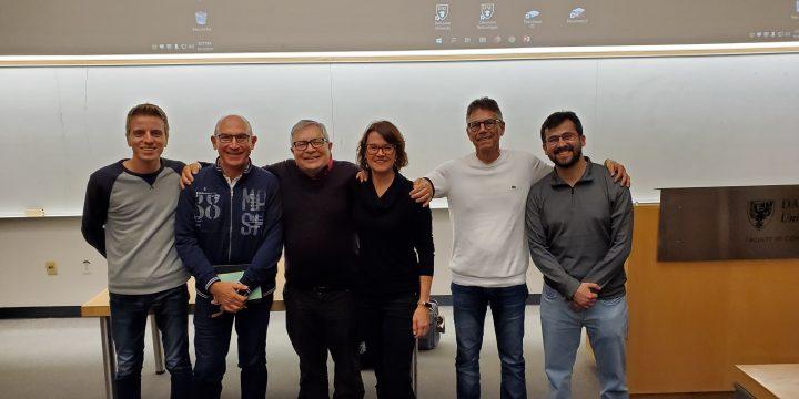 UNIVE researcher in secondment to Dalhousie University