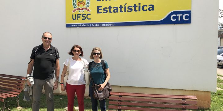 Secondment of CNR and HUA to UFSC started