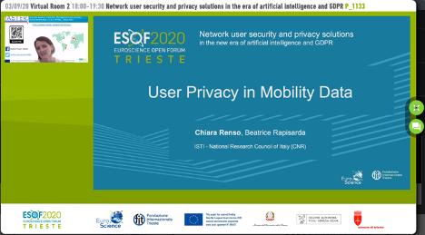 Master participation in ESOF!